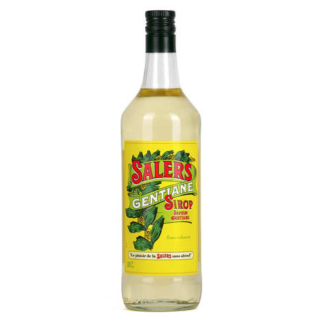 Distillerie de la Salers - Salers Gentian - Gentian Syrup (alcohol free)