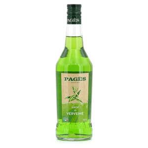 Distillerie Pagès - Sirop de verveine Pagès (sans alcool)