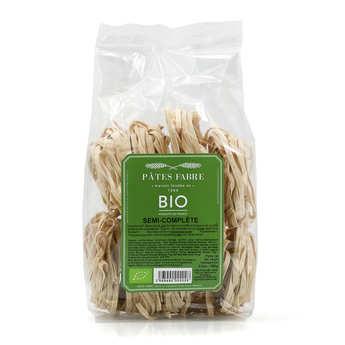 Pâtes Fabre - Organic half-husked wheat pasta