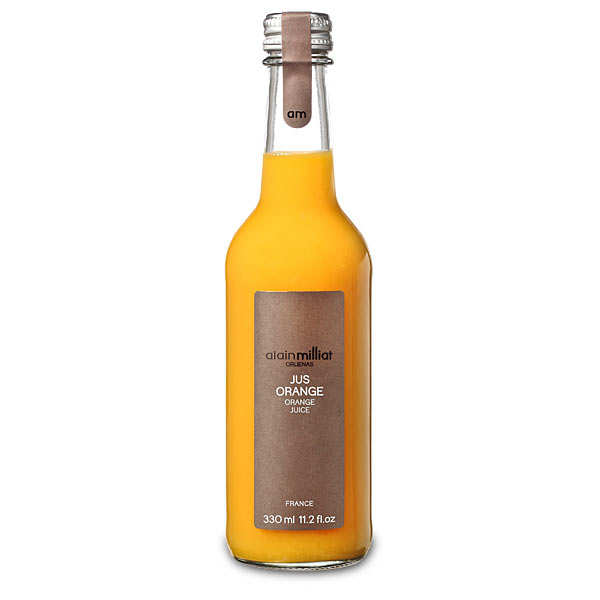 Pur jus d'orange du Maroc - Alain Milliat