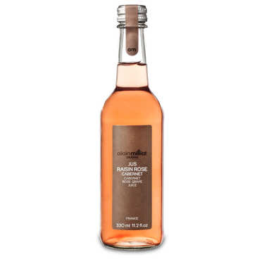 Jus de raisin rosé Cabernet Alain Milliat