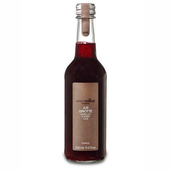 Jus de cerises griottes de provence  - bouteille 33cl