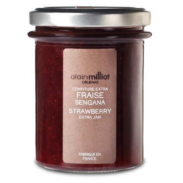 Confiture de fraises Sengana - Alain Milliat