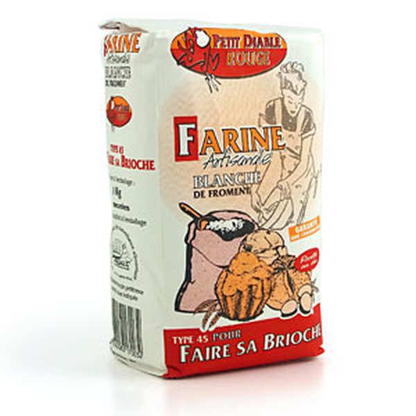 T45 flour for brioche