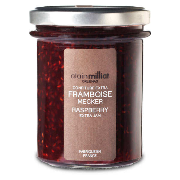 Confiture de framboises Mecker - Alain Milliat