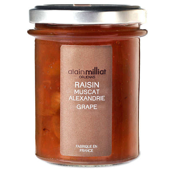 Confiture de raisin muscat d'Alexandrie - Alain Milliat