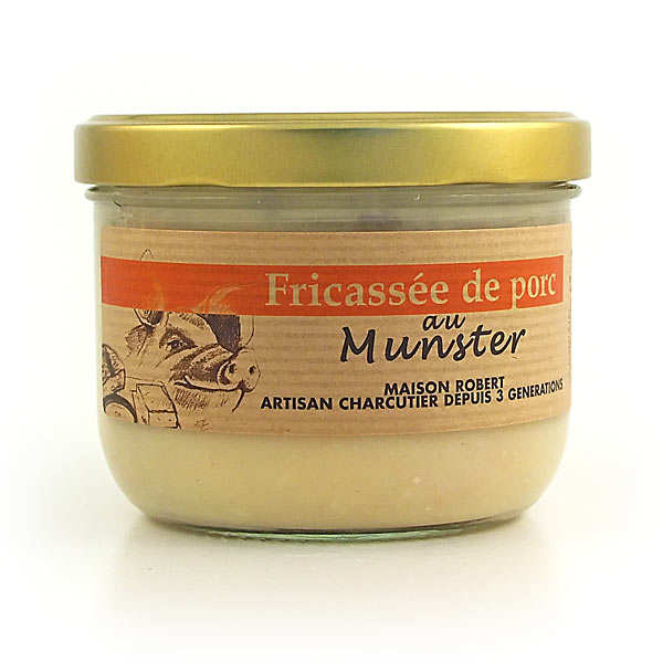 Pork fricassee with munster - 380g