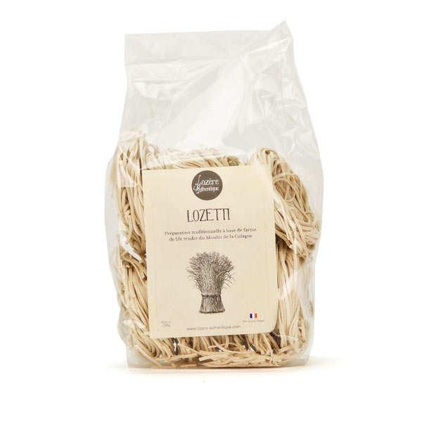 """Lozetti - """"Spaghetti"""" de Lozère"""