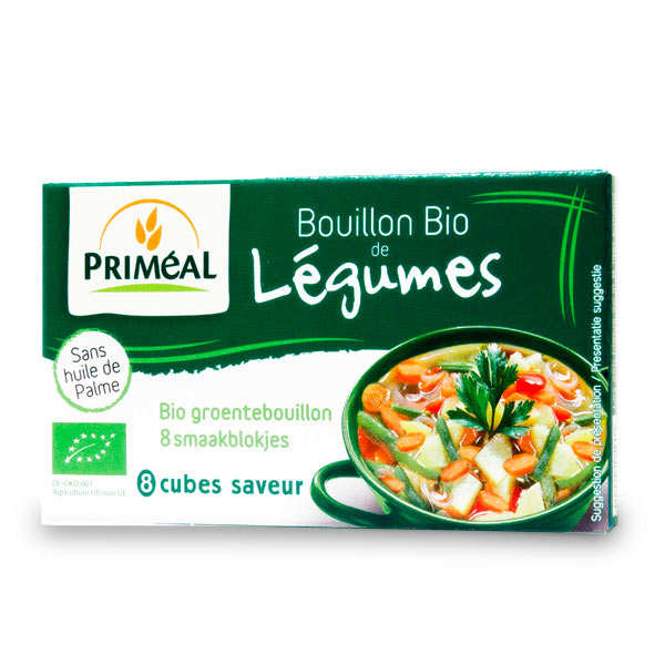 Organic broth cubes (x8)