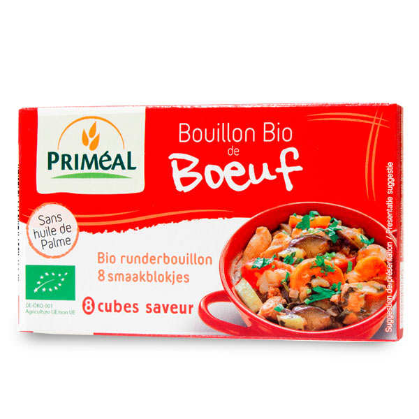 Organic beef broth cubes