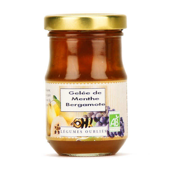 Organic bergamot mint jelly