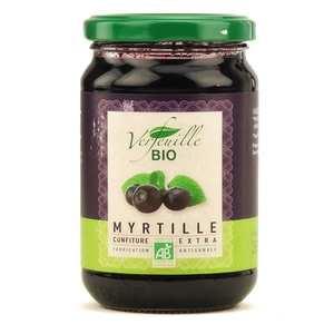 Verfeuille - Confiture de myrtille des Cévennes bio