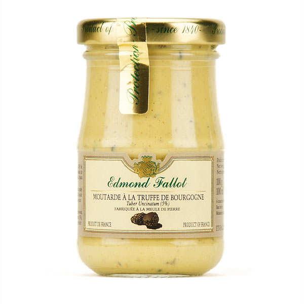 Moutarde aux truffes de Bourgogne