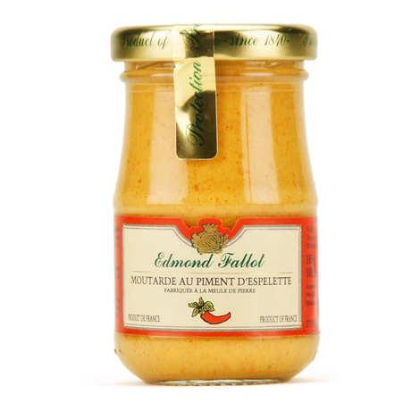 Fallot - Moutarde au piment d'Espelette