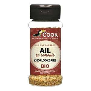Cook - Herbier de France - Granulated garlic organic