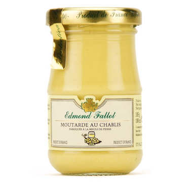 Moutarde de Dijon au Chablis