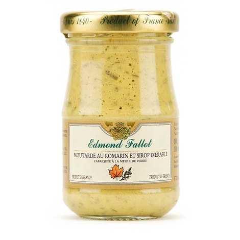 Fallot - Moutarde de Dijon au romarin et sirop d'érable