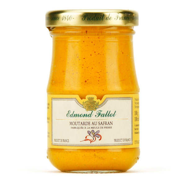 Dijon Mustard with Saffron