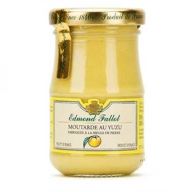 Moutarde de Dijon au Yuzu