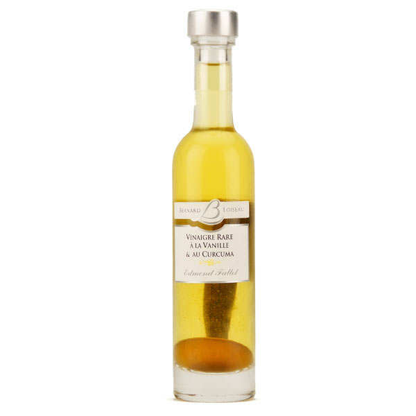 Vinaigre rare Vanille & Curcuma - Bernard Loiseau