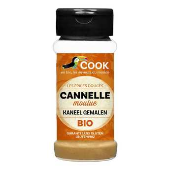 Cook - Herbier de France - Organic cinnamon powder (30g)