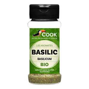 Cook - Herbier de France - Organic basil
