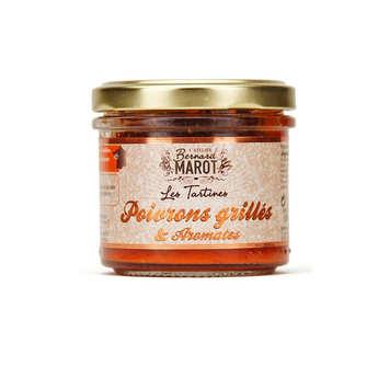Bernard Marot - Poivrons grillés & aromates à tartiner