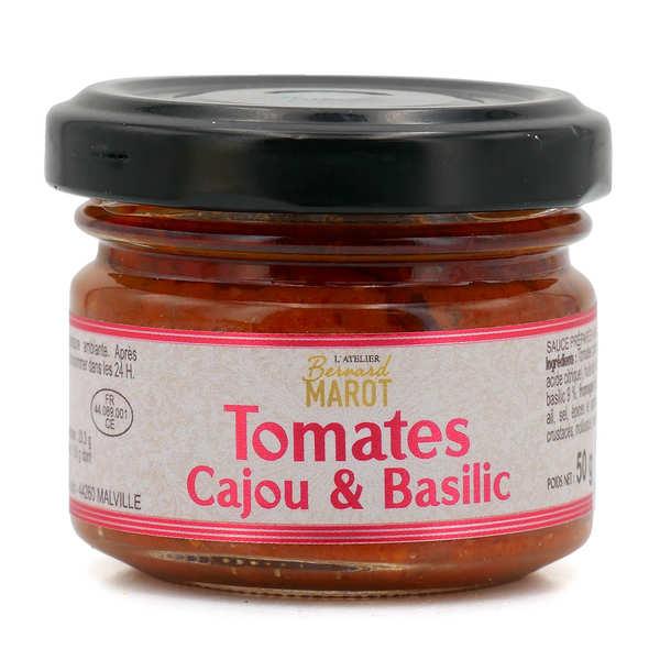 Tomates séchées & basilic à tartiner