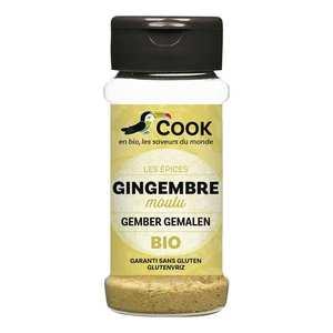 Cook - Herbier de France - Gingembre poudre bio