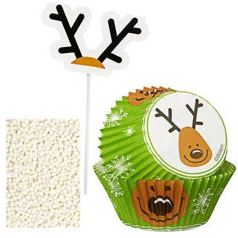 Wilton - Reindeer Cupcake Decorating Kit