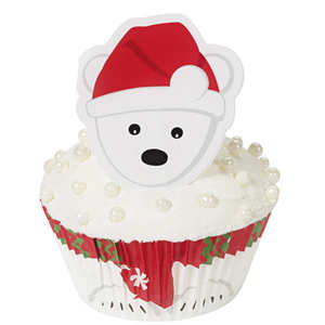 Wilton - Polar Bear Cupcake Decorating Kit