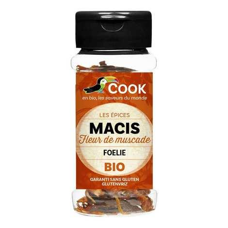 Cook - Herbier de France - Whole mace organic