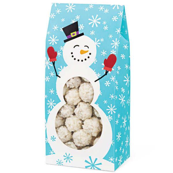 Snowman Tent Cookie Boxes