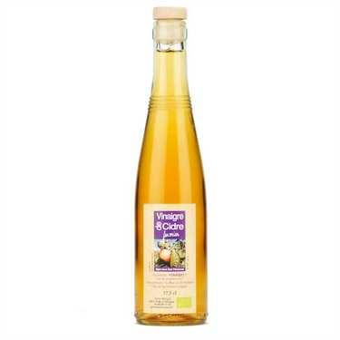 Vinaigre artisanal de cidre bio sans sulfite