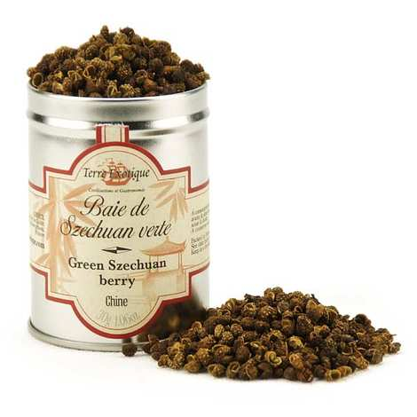 Terre Exotique - Green Szechuan Berries from China