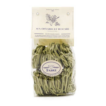 Pâtes Fabre - Spinach and nutmeg flavoured pasta