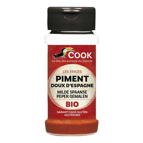 Cook - Herbier de France - Piment doux d'Espagne bio