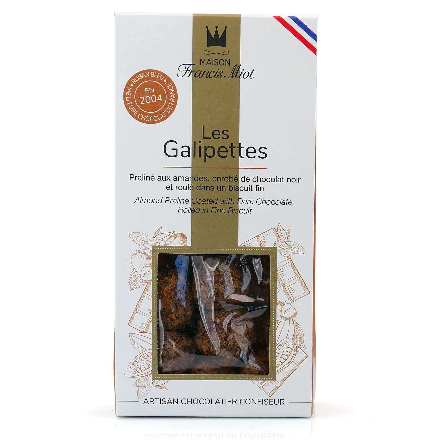 """Les Galipettes"" - chocolate and praline sweet"