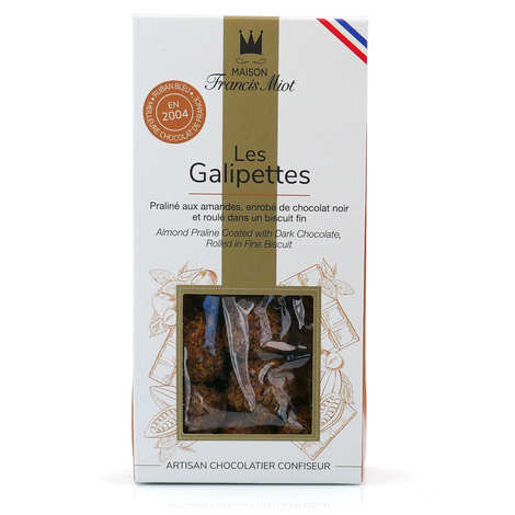 "Maison Francis Miot - ""Les Galipettes"" - chocolate and praline sweet"