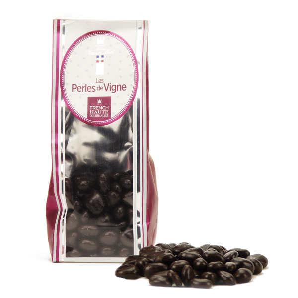 Les perles de vigne - bonbon chocolat au raisin et Sauternes