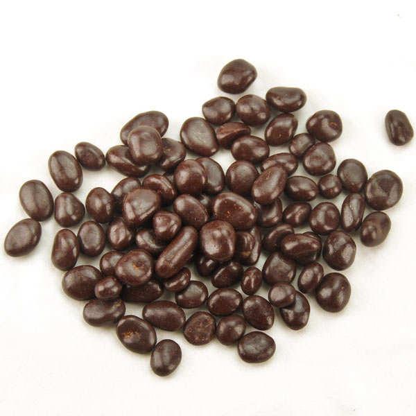 Les perles de vigne - Dried Sauternes grapes coated with chocolate