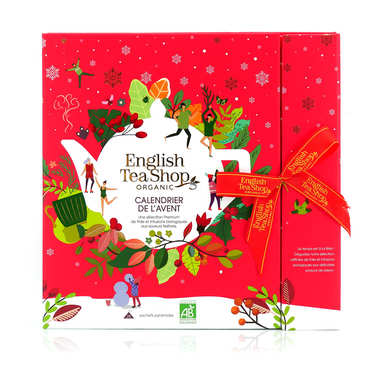 Premium Tea and Infusion Advent Calendar - Organic Christmas Collection