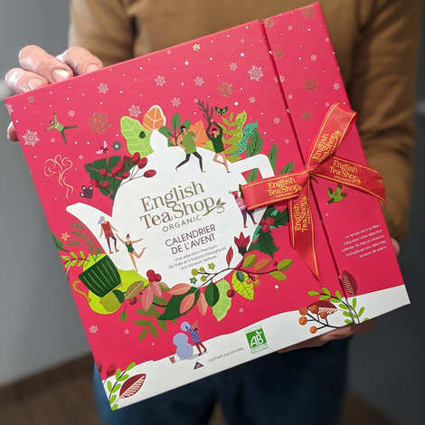 English Tea Shop - Premium Tea and Infusion Advent Calendar - Organic Christmas Collection