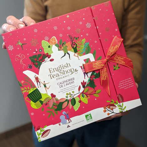 English Tea Shop - Calendrier de l'avent Blanc de thés et infusions biologiques