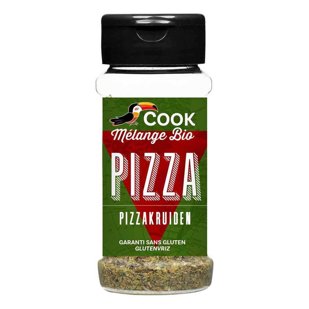 Mélange d'épices pour pizza bio
