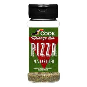 Cook - Herbier de France - Mélange d'épices pour pizza bio
