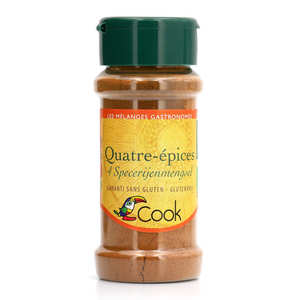 Cook - Herbier de France - Four spices mix organic
