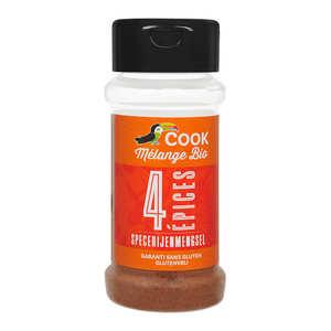 Cook - Herbier de France - Four spices mix organic