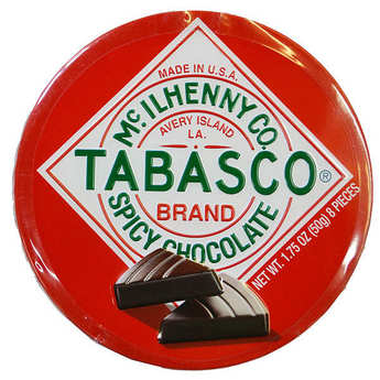 Mc Ilhenny - Tabasco brand - Tabasco Chocolate Spicy Dark Chocolate Wedges