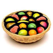 Shepcote - Corbeille de fruits en pâte d'amande